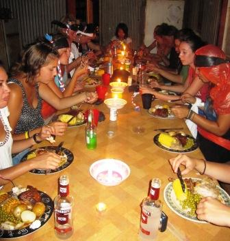 Dinner with Red Earth Safaris at the Outback Station
